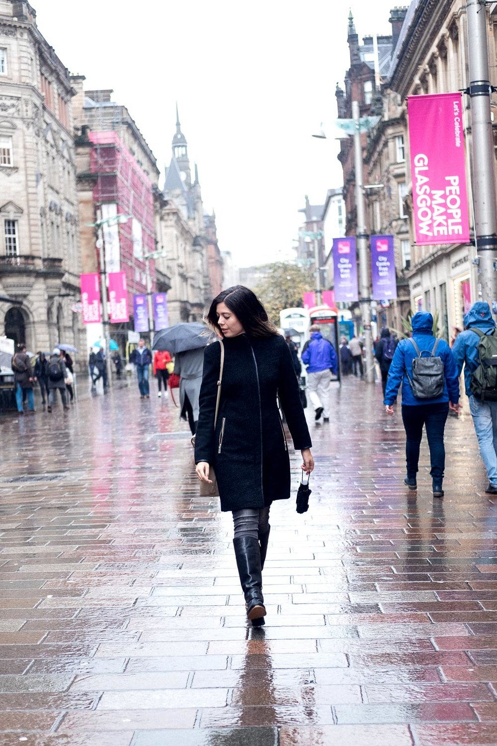 City Guide: Off Duty in Glasgow - Buchanan Street Walking