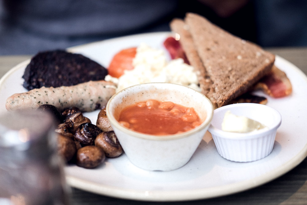 City Guide: Off Duty in Glasgow - where to eat - cranachan - scottish breakfast