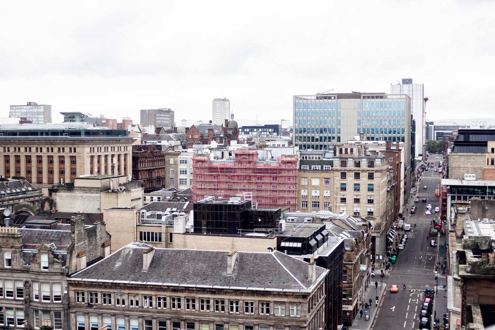 City Guide: Off Duty in Glasgow - the view from the lighthouse