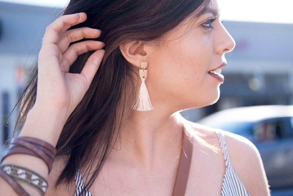 Rachel Off Duty: How to Start Networking - Fringe Earrings