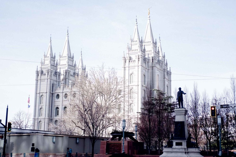 Rachel Off Duty: Salt Lake City Temple