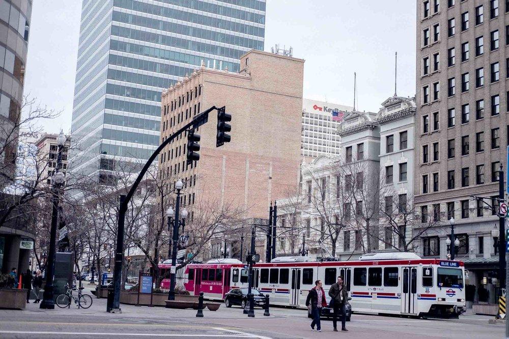 Rachel Off Duty: Salt Lake City TRAX