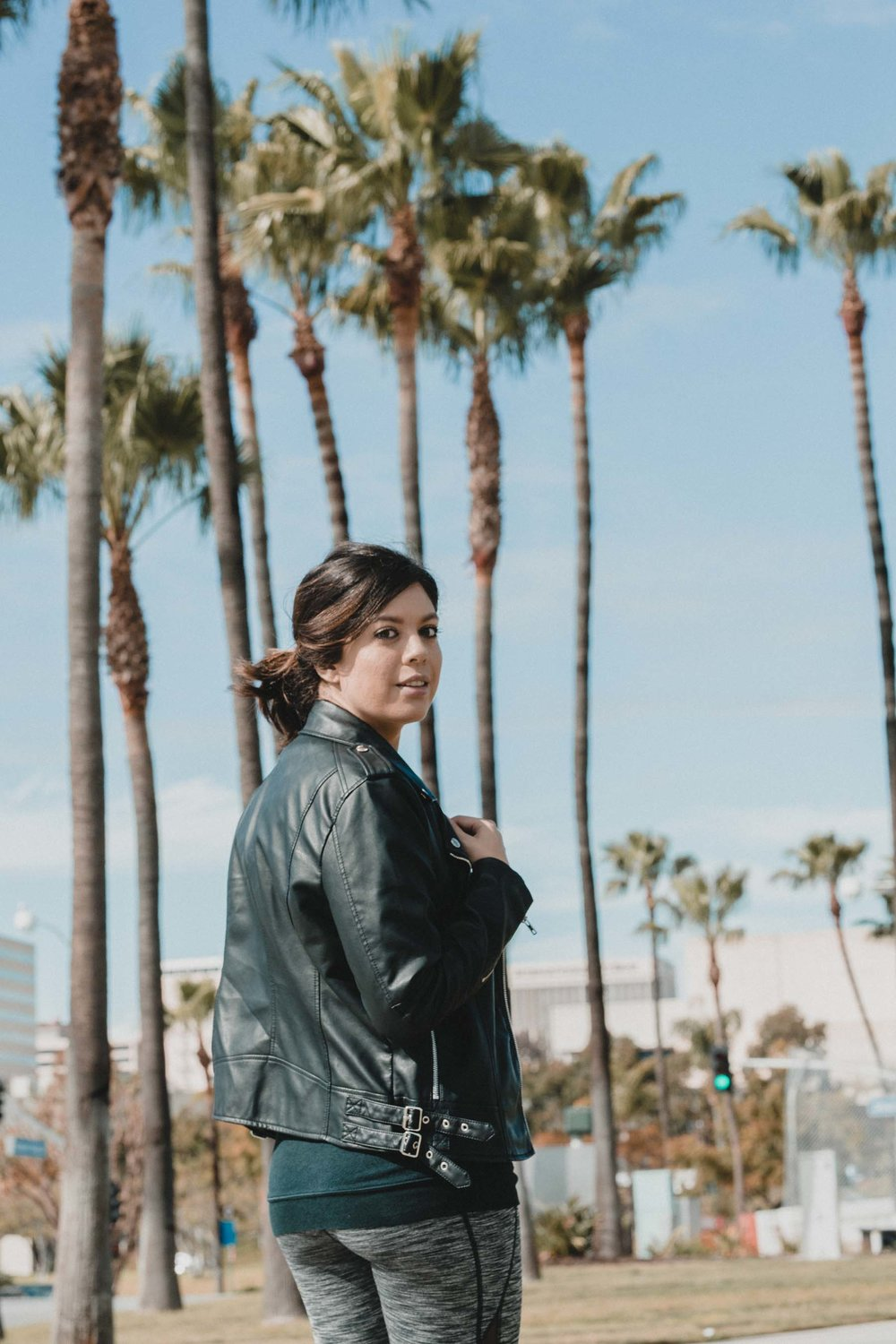 Rachel Off Duty: Members Only Moto Jacket