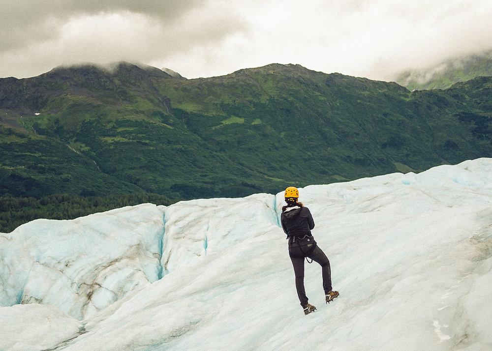 Rachel Off Duty: Alaska Travel Guide - Spencer Glacier - Ascending Path