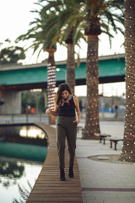 Rachel Off Duty: Fall Fashion Statements - Neckerchief