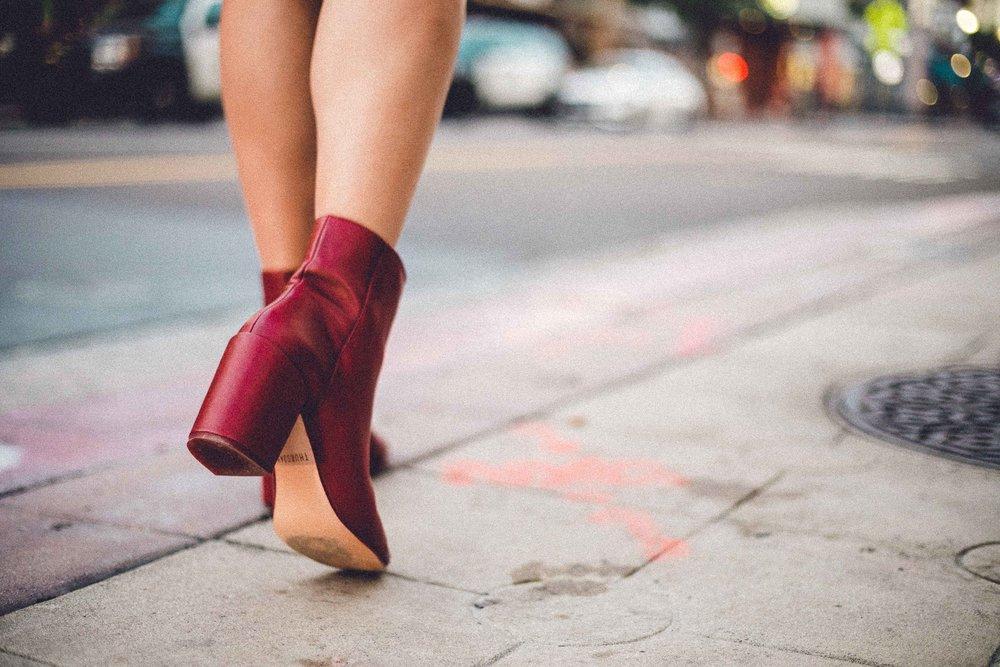 Rachel Off Duty: 4 Winter Ankle Boots - Chunky Heel Bootie