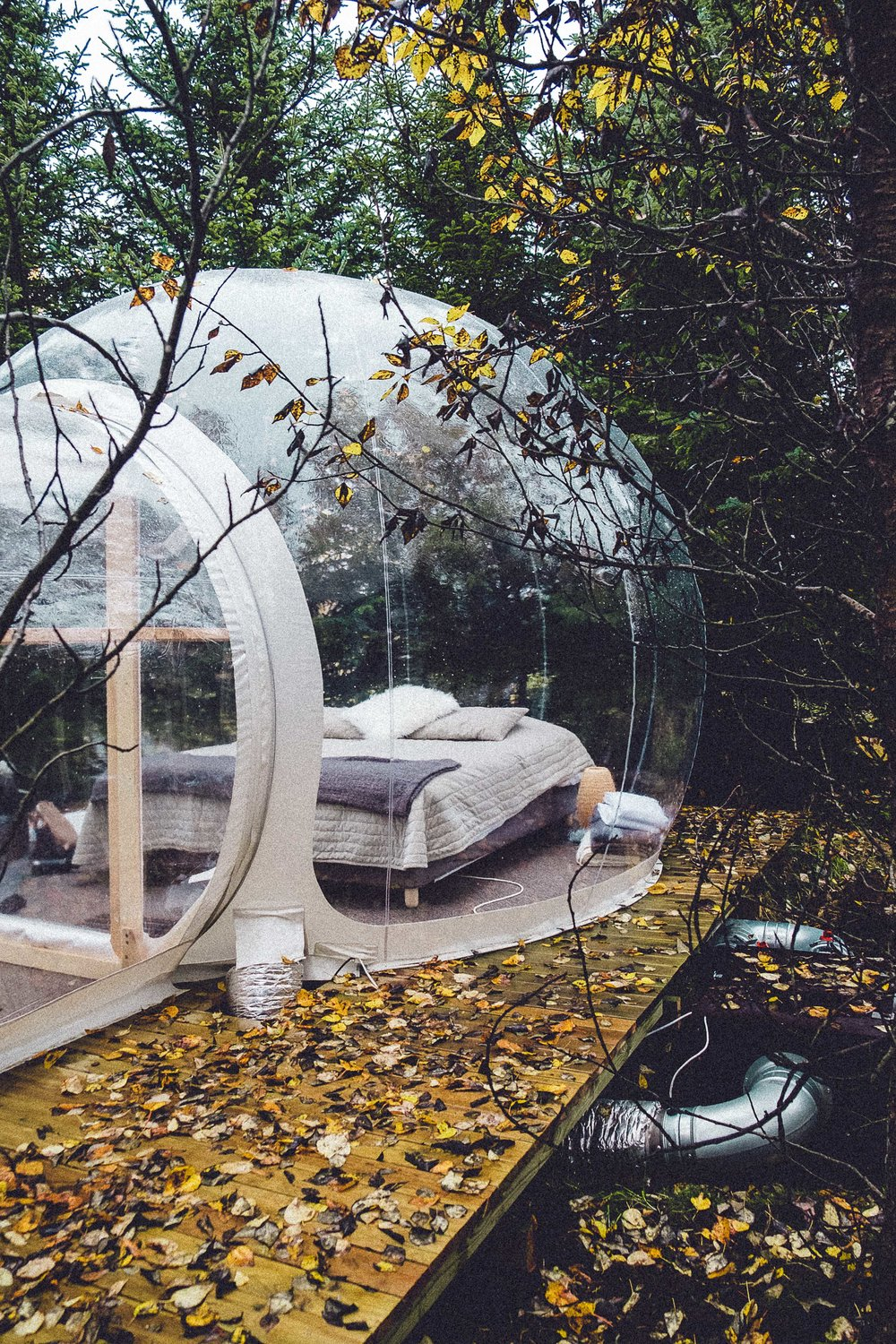Rachel Off Duty: 3 Unique, Remote Hotels You Should Stay In - The Buubble Hotel