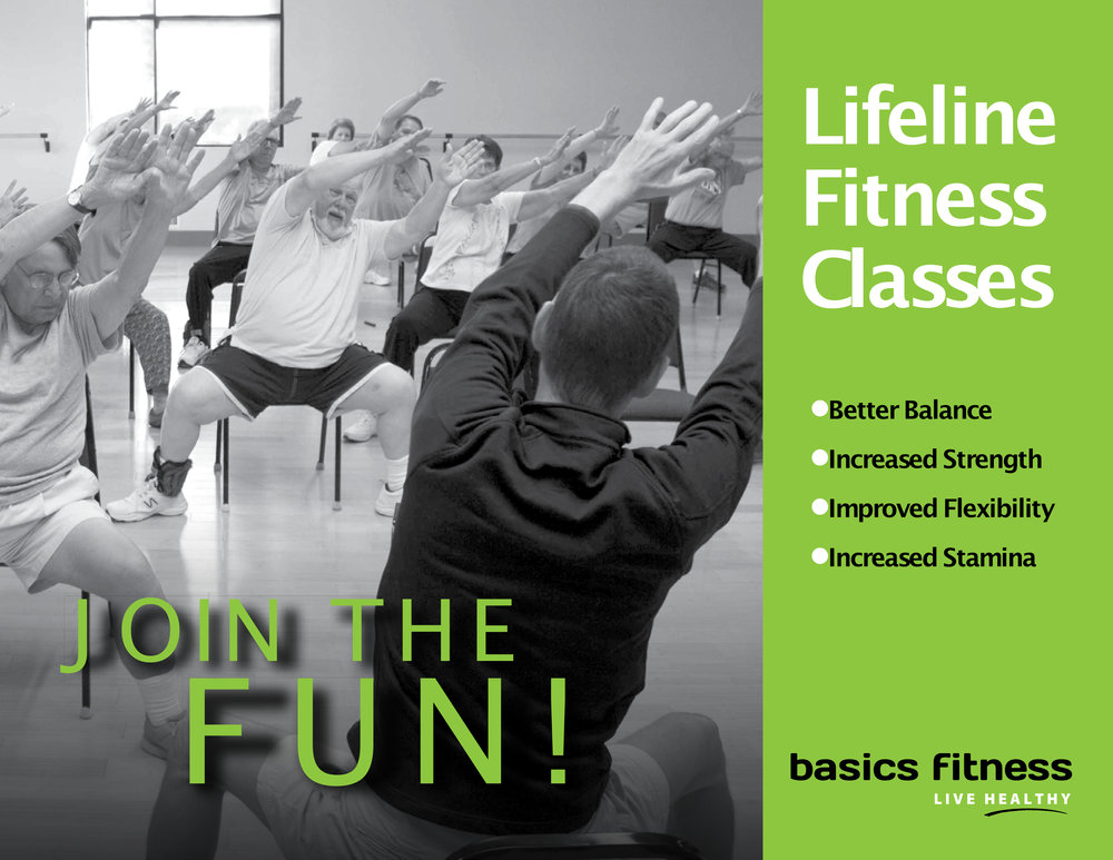 - Basics signature program! This is a group exercise fall-prevention program designed for those 50 and over who are mindful of the need to stay healthy through regular physical activity.