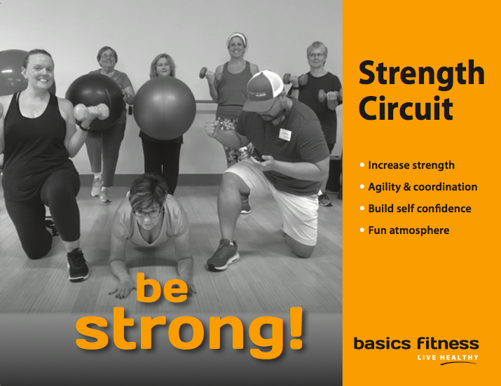 - The Strength Circuit class is a fun, upbeat class that focuses on a wide variety of full body exercises. Participants can expect a great strength workout as well as cardiovascular training!
