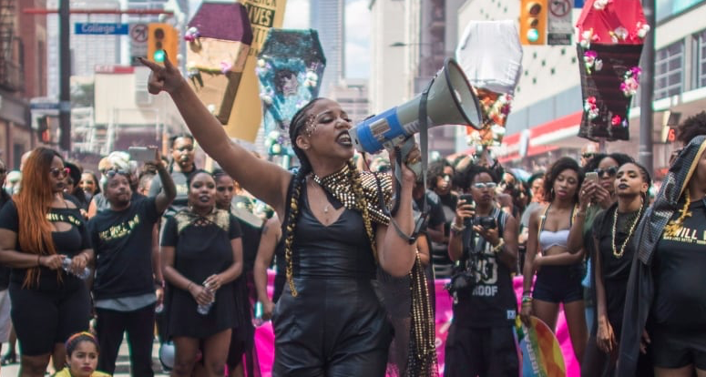 Black Lives Matter Toronto at Pride