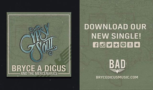 Who wants a special prize from #brycedicusandthemercinaries  Heres what ya do. 1. Like this post. 2.Share this post. 3. Post a screen shot and tag us that you have followed us on #spotify and played the new single. We will pick a winner from #Facebook, #Twitter, #Snapchat, and #Instagram #countrymusic #reddirt #gypsysoul #freeprize