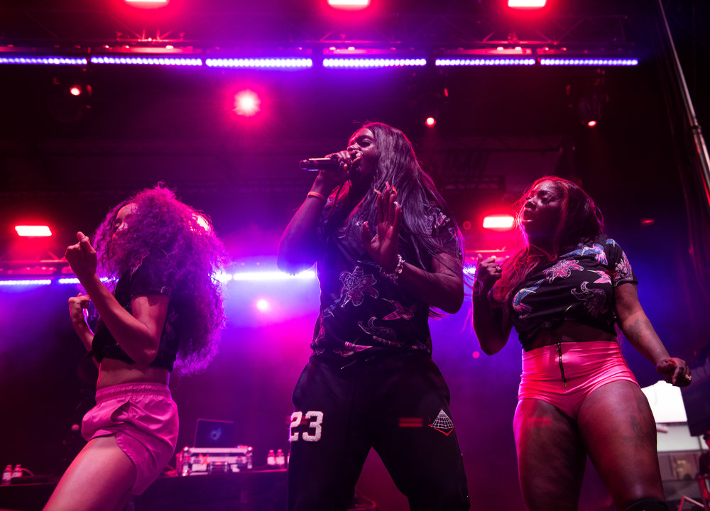 Big Freedia brought NXNE Yonge Street Festival Village 2018 to a dance party close Sunday, June 17.