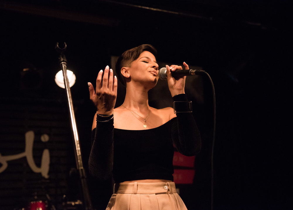 Selena Dhillon sazzled as part of the City of Brampton showcase, Friday, June 15, 2018 at the Rivoli as part of NXNE Club Land.