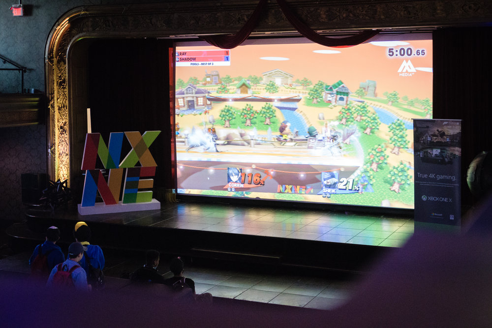 Gaming and eSports, NXNE Game Land, kick off the 10 day NXNE Festival every year in June. Gamers battle at NXNE Game Land 2018 at Toronto's Concert Hall. June 9, 2018.