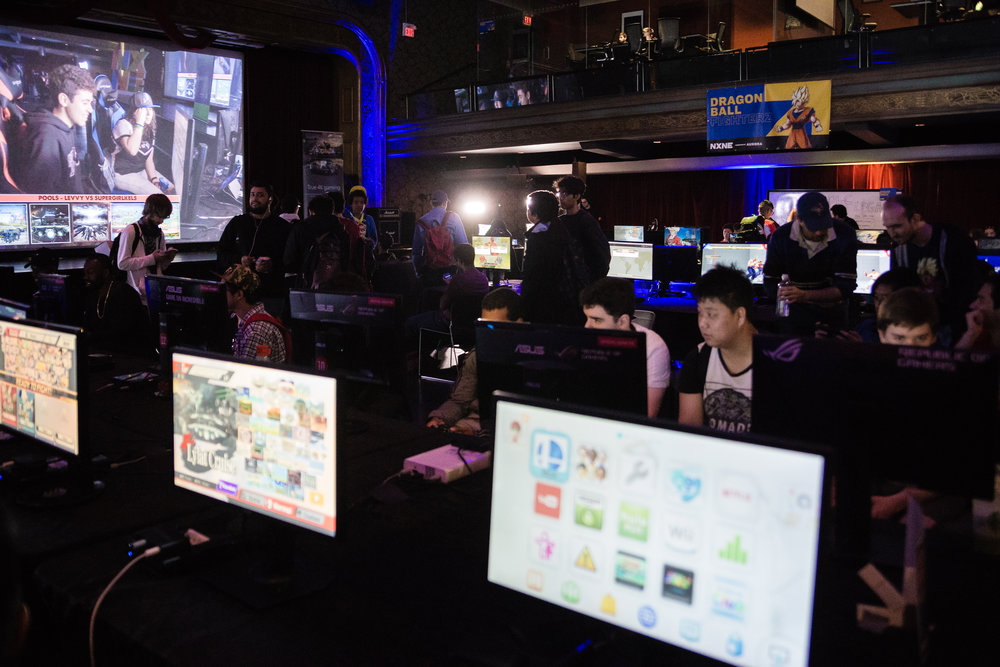 NXNE Game Land was jammed for fierce gaming throughout the festival's 2018 opening weekend June 8 -10 at the Concert Hall at 888 Yonge Street in Toronto.