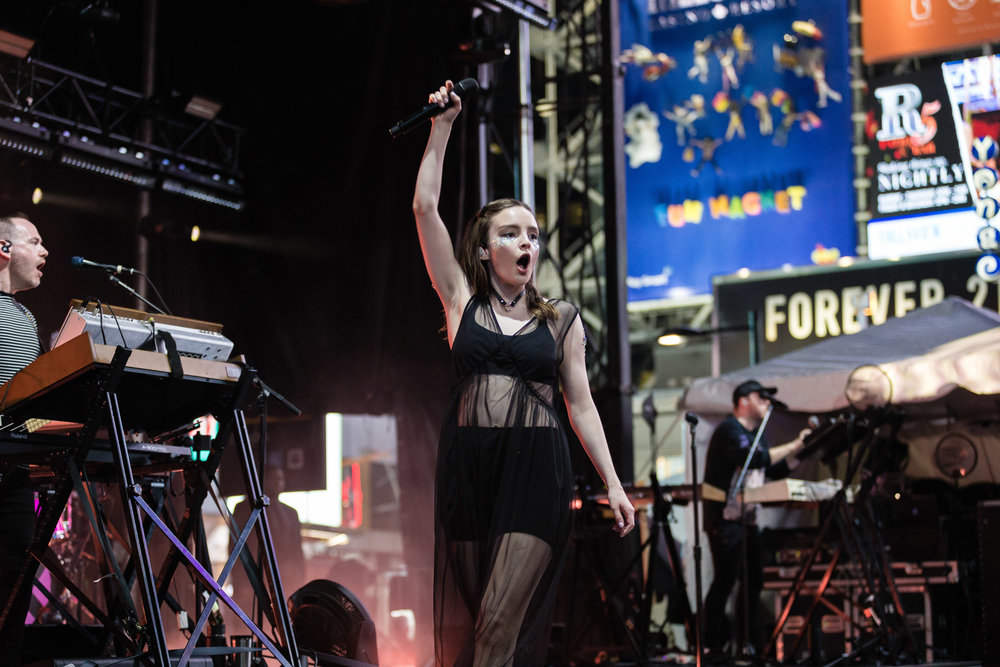 Chvrches were just one of hundreds of amazing bands that made NXNE 2018 so special. Chvrches headlined NXNE's Yonge Street Festival Village, Saturday June 16 along with Light, Yungblud and many more. Other headliners included: Jazz Cartier, Azealia Banks, Tinashe, Big Freedia, U. S. Girls and many more.