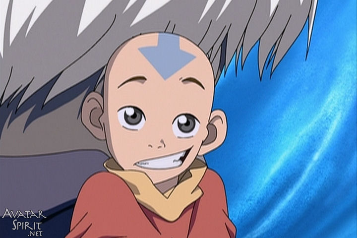 An image of Aang from Avatar the Last Airbender, smiling sheepishly. Oh, we'll get to you.