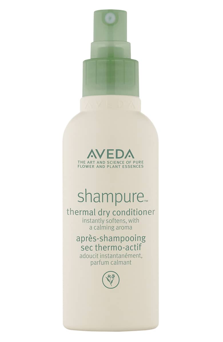ESSENTIAL FOR YOUR PARTY STYLING….For beach waves, barrel curls, or smooth and sleek styling:  Shampure Thermal Dry Conditioner  will not only shield your beautiful tresses from your hot tools, it refreshes and conditions your hair with sunflower and jojoba. Enjoy the benefits of added shine, as you make every head turn. Shake it up and spray onto dry hair from 6-8 inches then brush through and style away! Enjoy conditioned hair all night while your rockin' around the Christmas Tree.