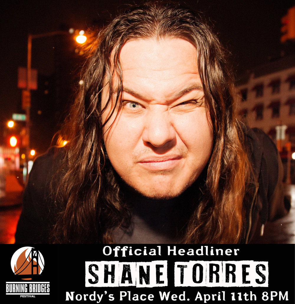 Shane Torres - Wednesday April 11th 8PM FREE SHOWSeating is first come first served.Nordy's Place at the William Pitt UnionFacebook Event here.Hosted by:Phil Forrencewith:Suzanne Lawrence, Harry Gilliland, Collin Chamberlin, Ramsey Daniels