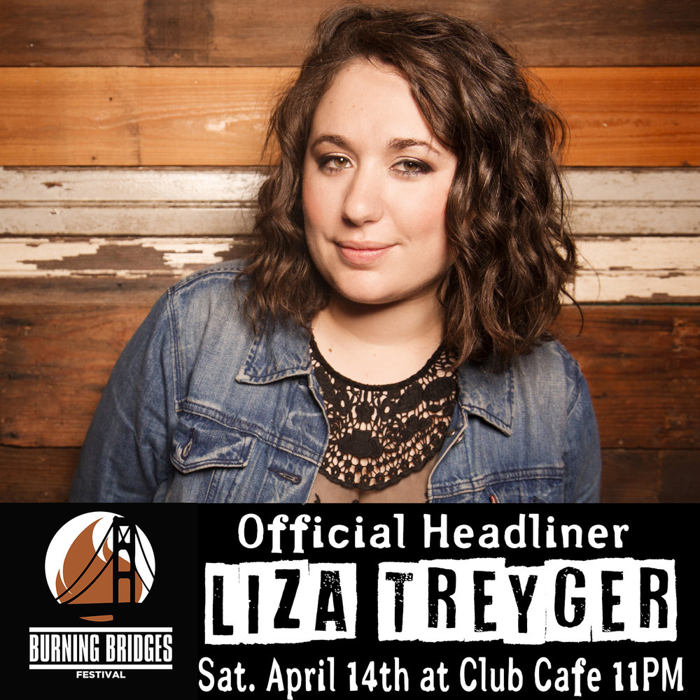 Liza Treyger Live  - Club CafeTickets Here!Saturday April 14th 11PM $15Host: John Dick Winterssahima gadkhindi, kaytlin bailey, norlex belma, phil forrence, david sitrick