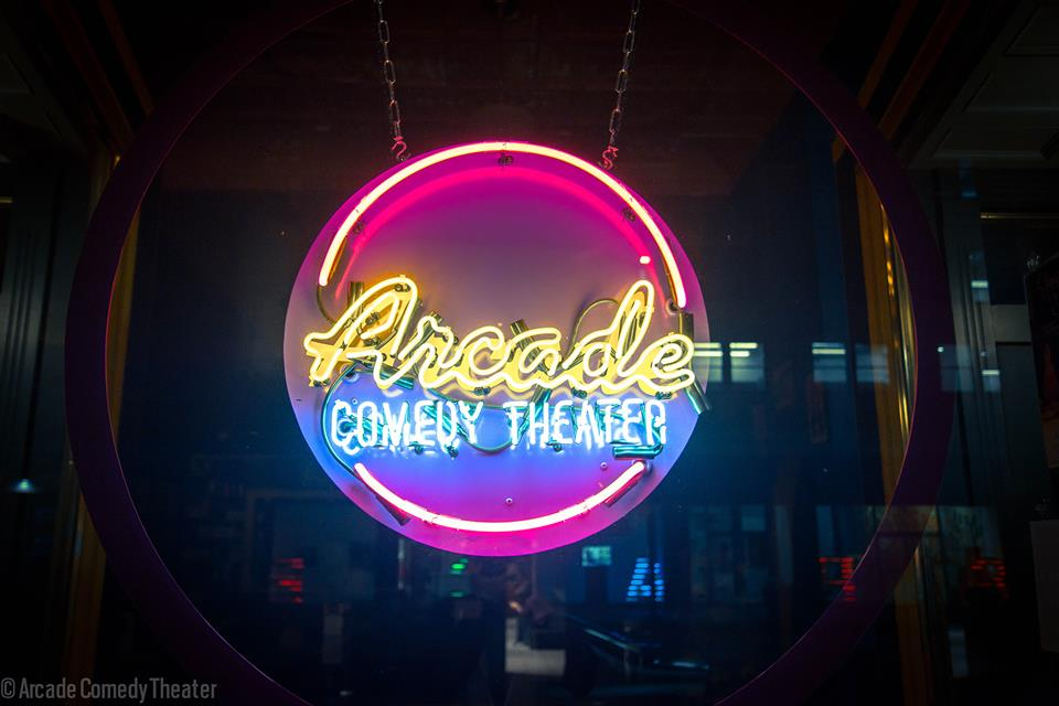 Super Stacked Showcase - Arcade Comedy TheaterTickets here!Thursday April 12th 8PMFacebook event herehost: Collin ChamberlinAston Wallace, Louis Michael,  Garrett Titlebaum, Diego Atinasio, Joe Pettis, John-Michael Bond, Mary Jane French, William Spottedbear, Quincy Johnson II, Arish Singh