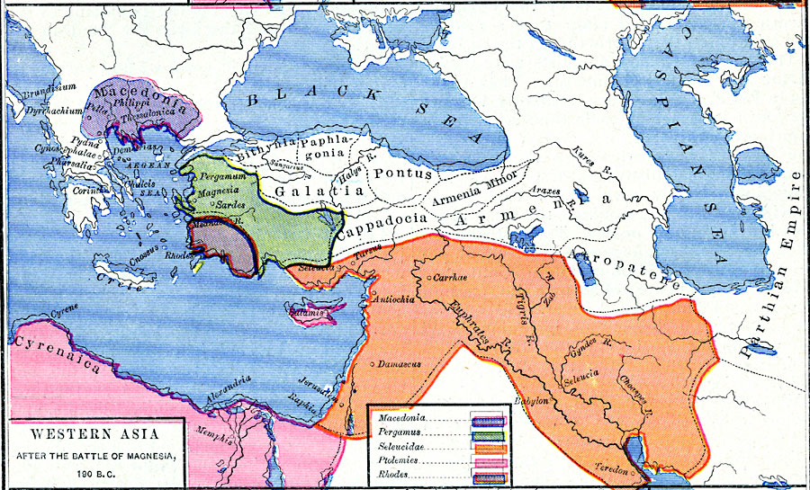 Post Magnesia Asia Minor