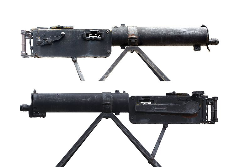 The Maxim Machine Gun