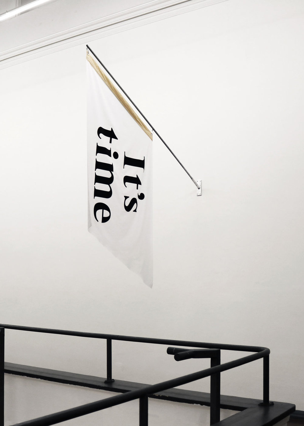 'Flag 3' (2018) on display at PICA.