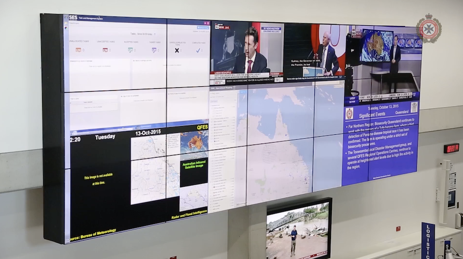 Queensland Fire & Emergency Services - State Disaster Coordination Centre