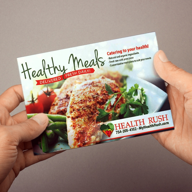 Postcard Marketing for Caterers