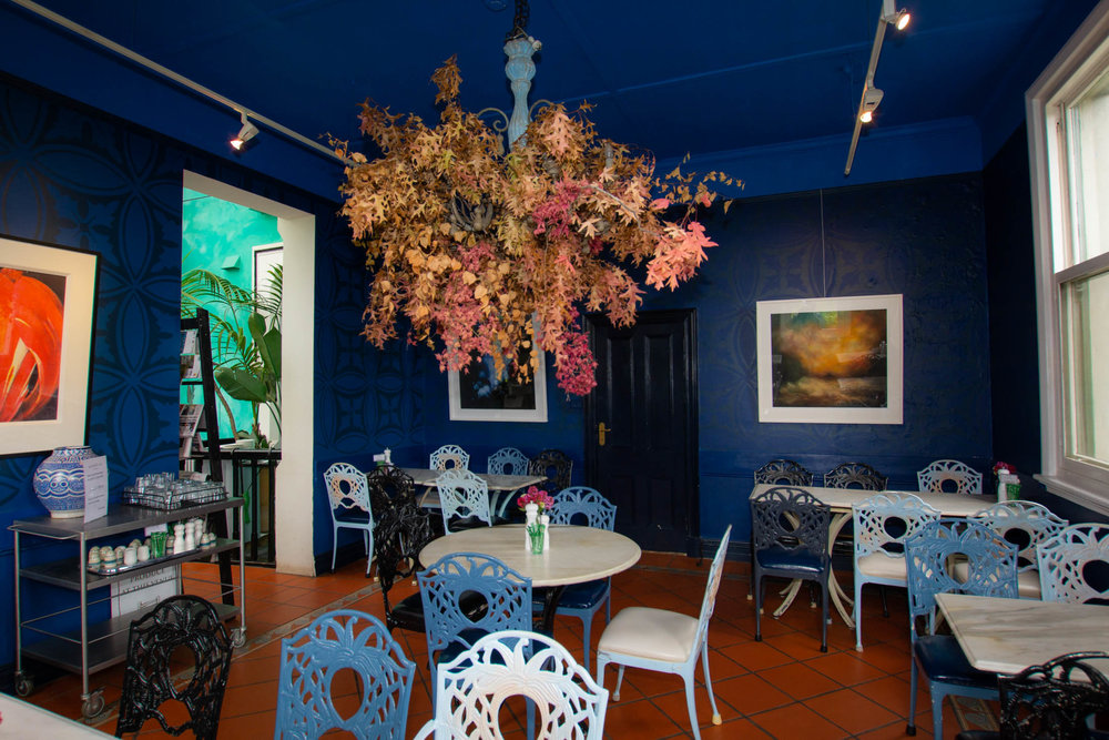 Bad Habits Cafe' at the Convent Gallery