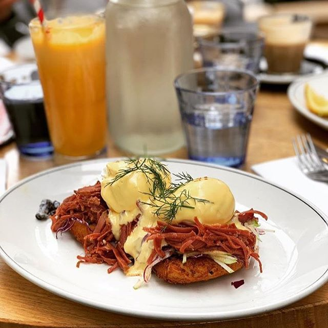 Shout out to 🍳 @bigmouthballarat for popping in to try our Big Apple Benedict. 👊🏻 Give them a follow for a culinary journey across Melbourne.
