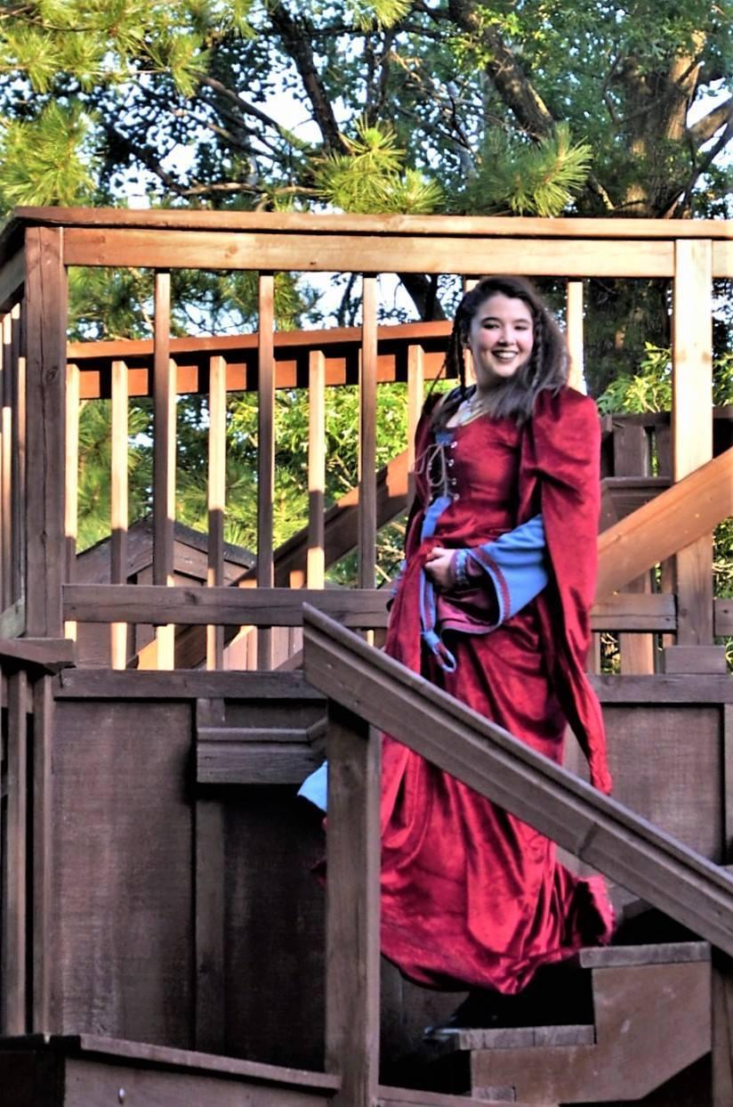 Lady Percy Dress Rehearsal