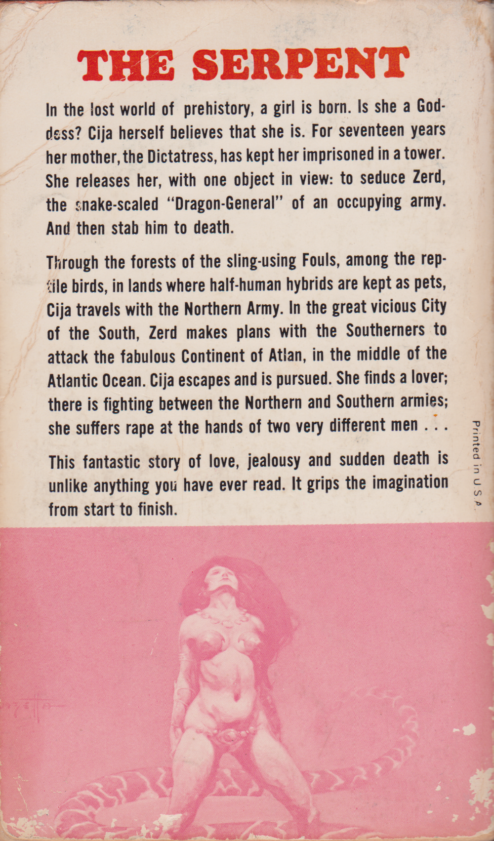 The Serpent by Jane Gaskell-back.png