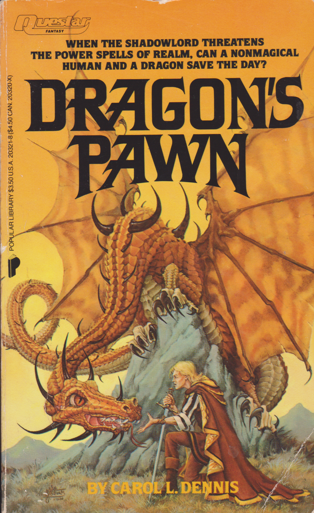 Dragon's Pawn by Carol L Dennis-front.png