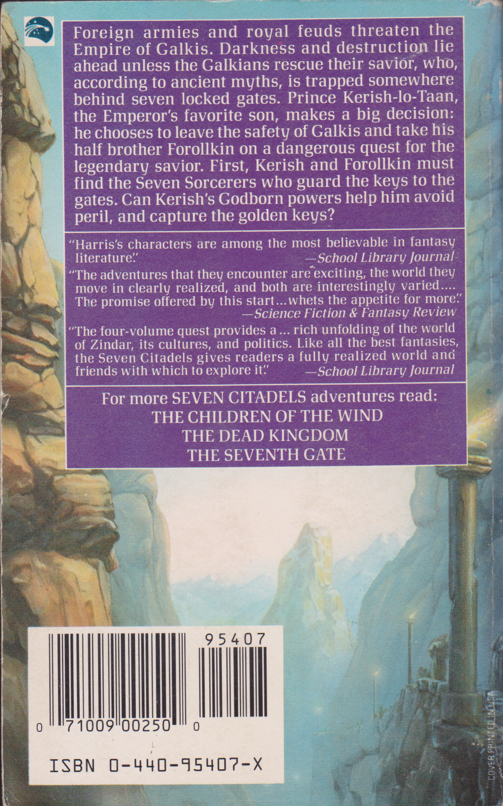 Prince of the Godborn by Geraldine Harris-back.png