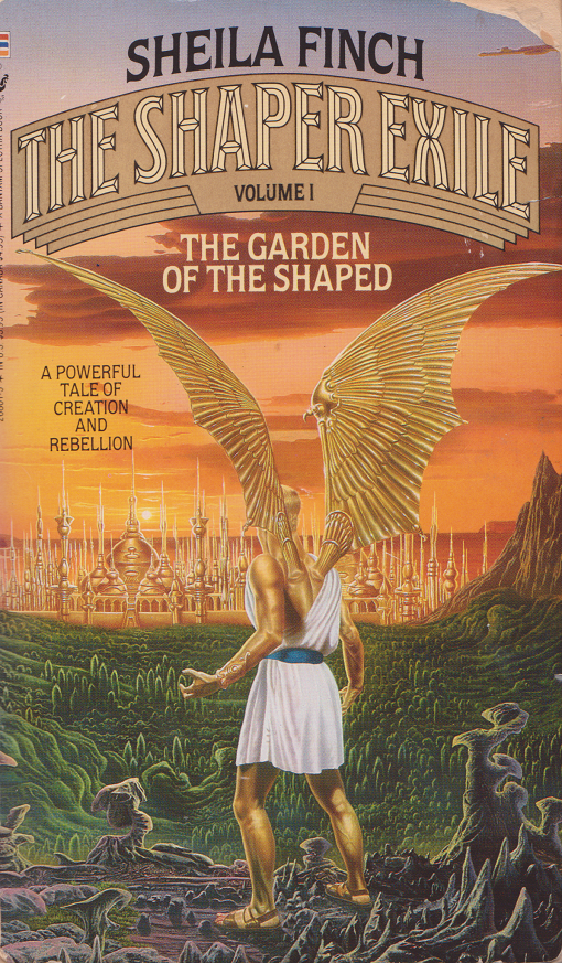 The Shaper Exiles-Garden of the Shaped by Sheila Finch, front.png
