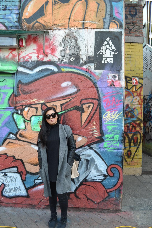 Things to do in Korea - Hongdae, Seoul, Graffiti