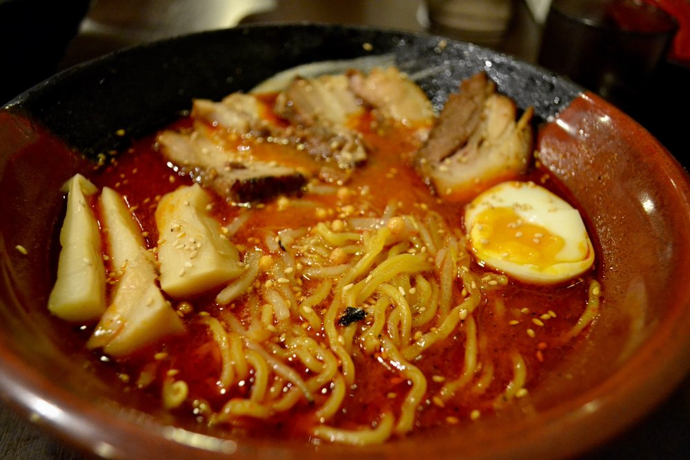 Spicy Miso Ramen at Sappora Ramen Republic at ESTA