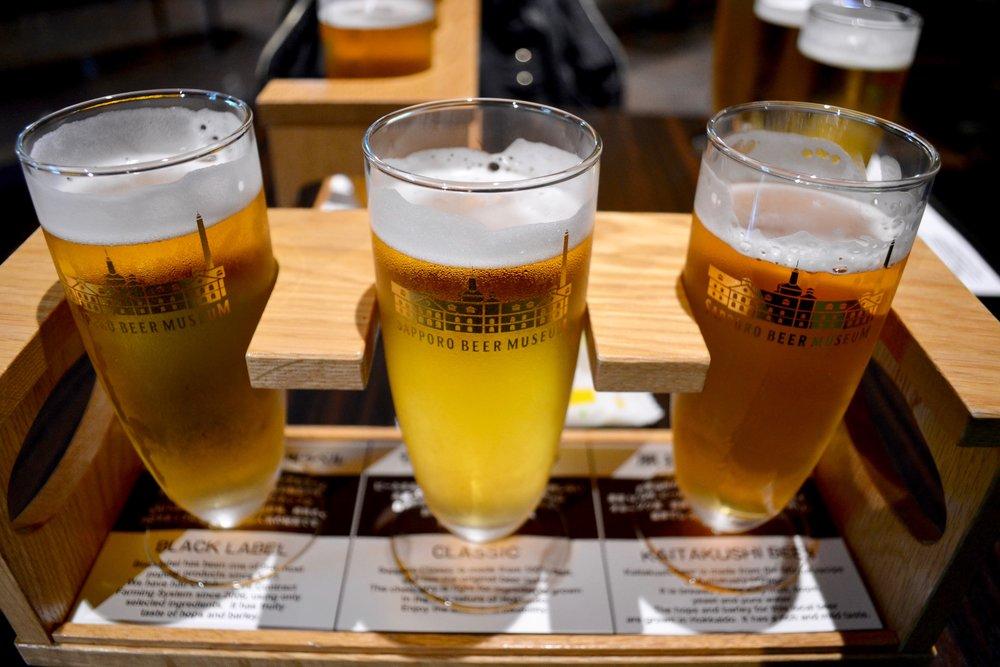Beer Sampler for only 600 yen!!