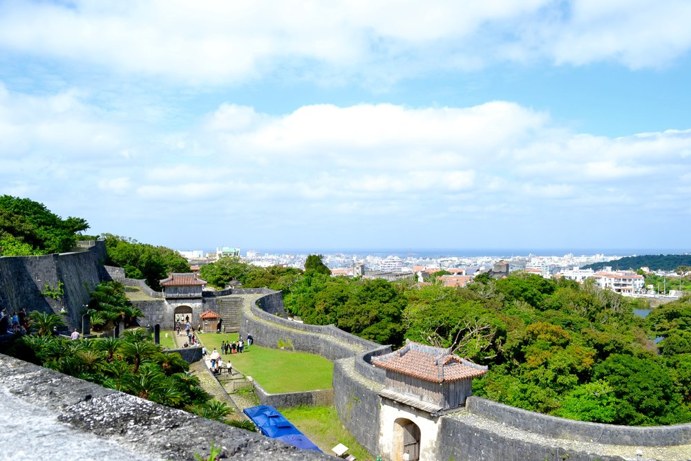 Outer gates of Shuri Castle