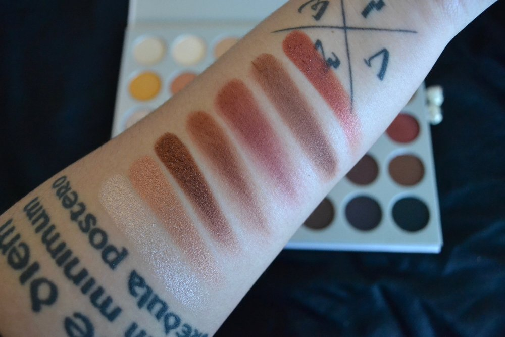 Jaclyn Hill Palette Review And Swatches Liana Desu