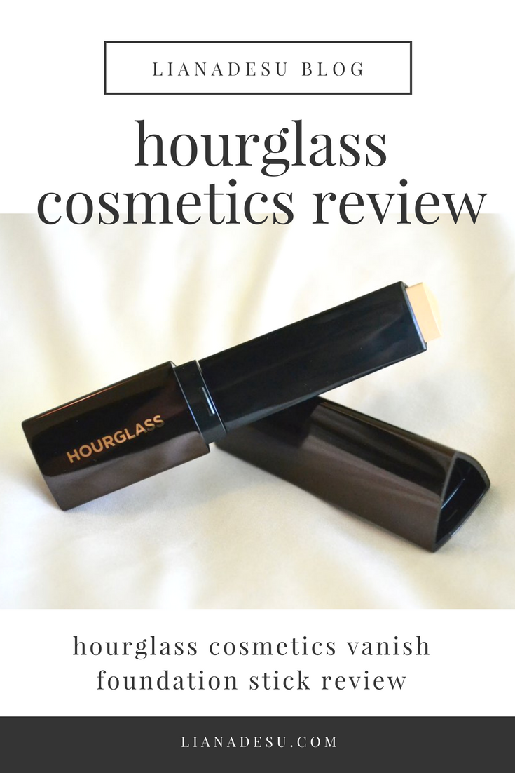 Hourglass Cosmetics Vanish Seamless Finish Foundation Stick Review