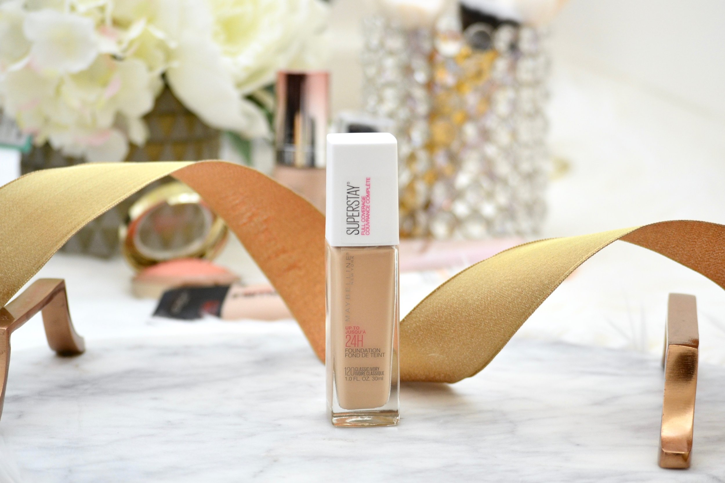 best long-wear foundations for hot weather maybelline super stay