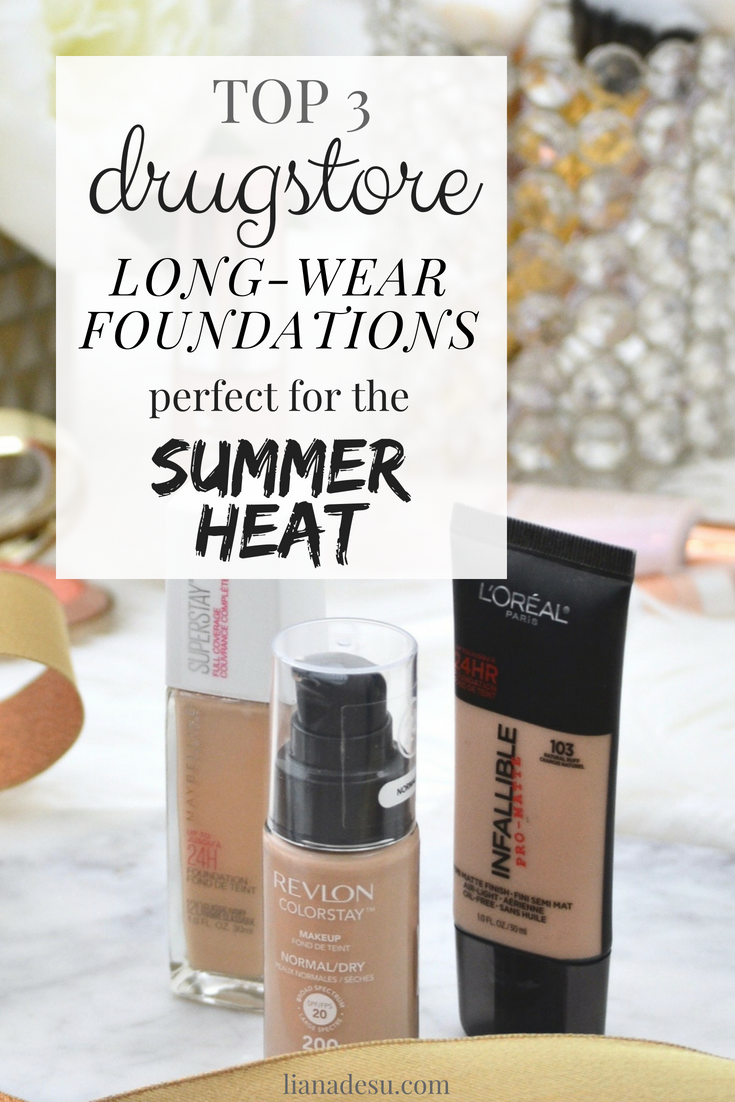 best long-wear foundations for hot weather