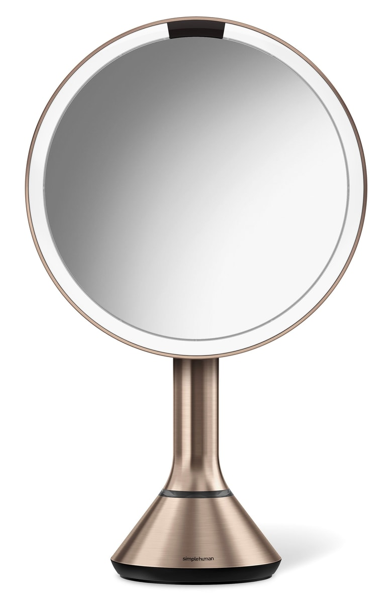 - My mom has the same mirror (in silver) and it's so good! The 5x magnifying effect is so good because you can see everything, but also so bad because you can see EVERYTHING. I can easily spend an hour plucking my brows and picking at every imperfection I have with this mirror LOL. Usually $200, this discount is too good to pass up!