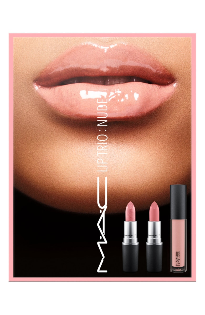 - MAC makes some of the best lipsticks out there and this nude set would get great everyday use for its wearability. The normal cost for a MAC lipstick is $18.50, so you're pretty much getting the gloss for free.