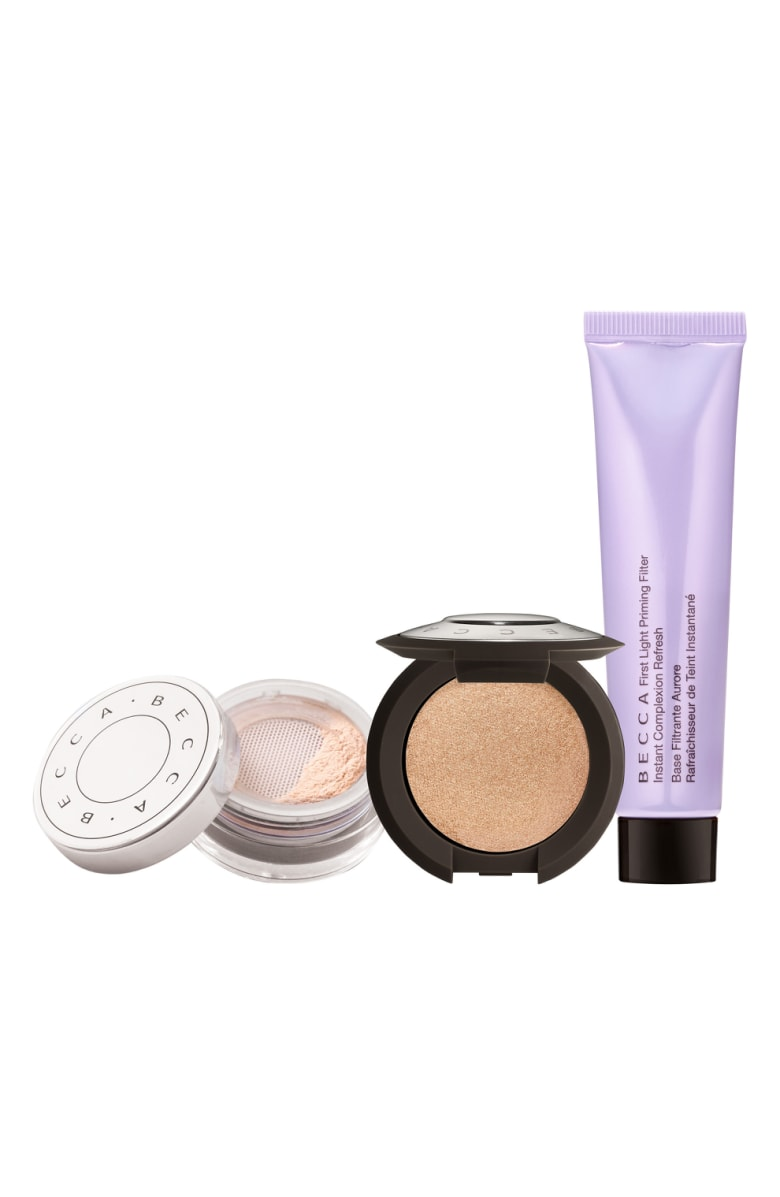 - You seriously can't go wrong with anything Becca, right? All products in this set are trial-sized, so it's a great opportunity to try out these popular products without paying the full price!