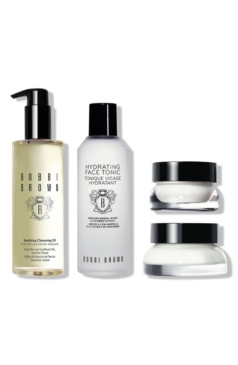 - This Bobbi Brown set is another set of ridiculous value. It's half-off! I absolutely love the Soothing Cleansing Oil and use it every single day to remove my makeup. (Read my review here.) I haven't tried any of the other products, but I really love Bobbi Brown skincare so I trust they're amazing.