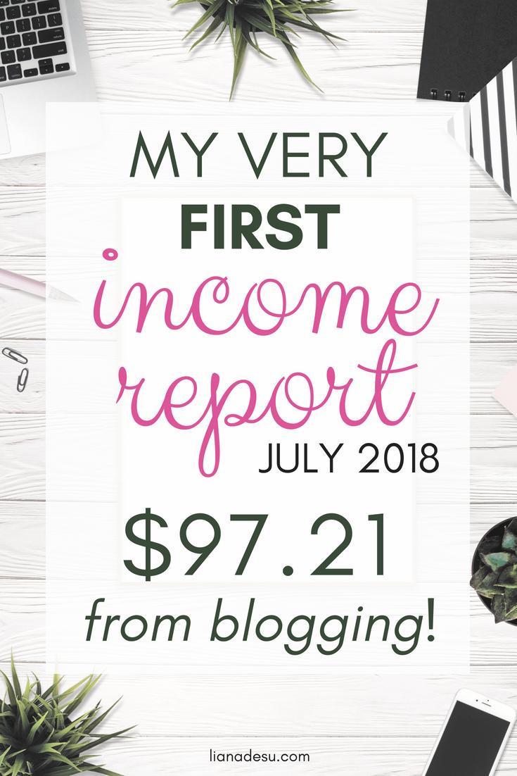 lianadesu first income report